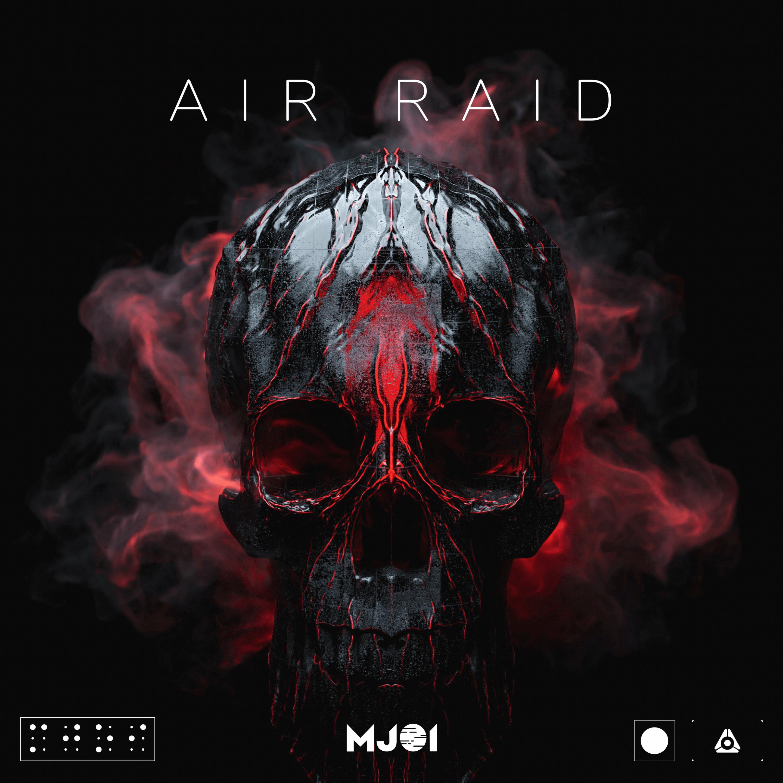 Mjoi - Air Raid Artwork